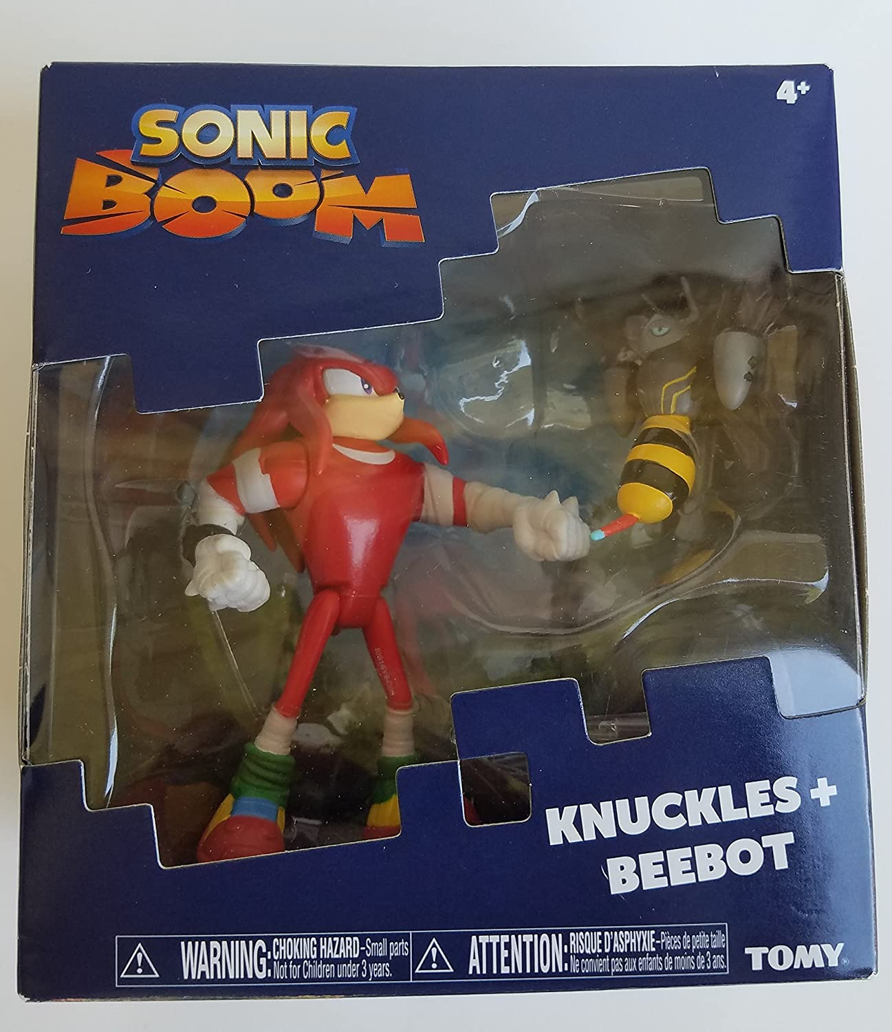 Sonic Knuckles and Beebot Action Figure 2 Pack TOMY