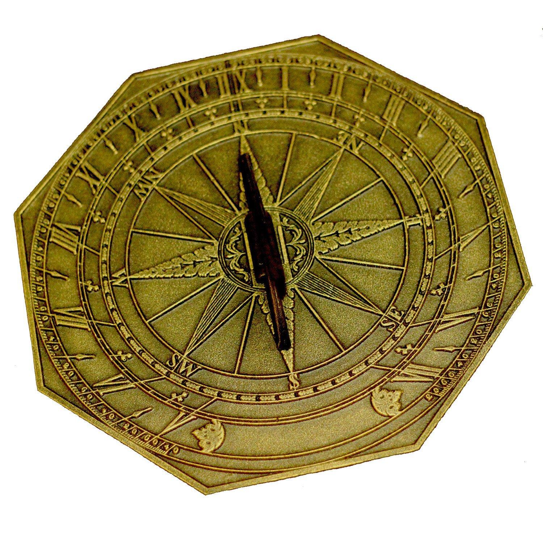 George Washington Sundial with Aged Bronze Finish