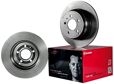 Brembo 09.8196.81 UV Coated Front Disc Brake Rotor