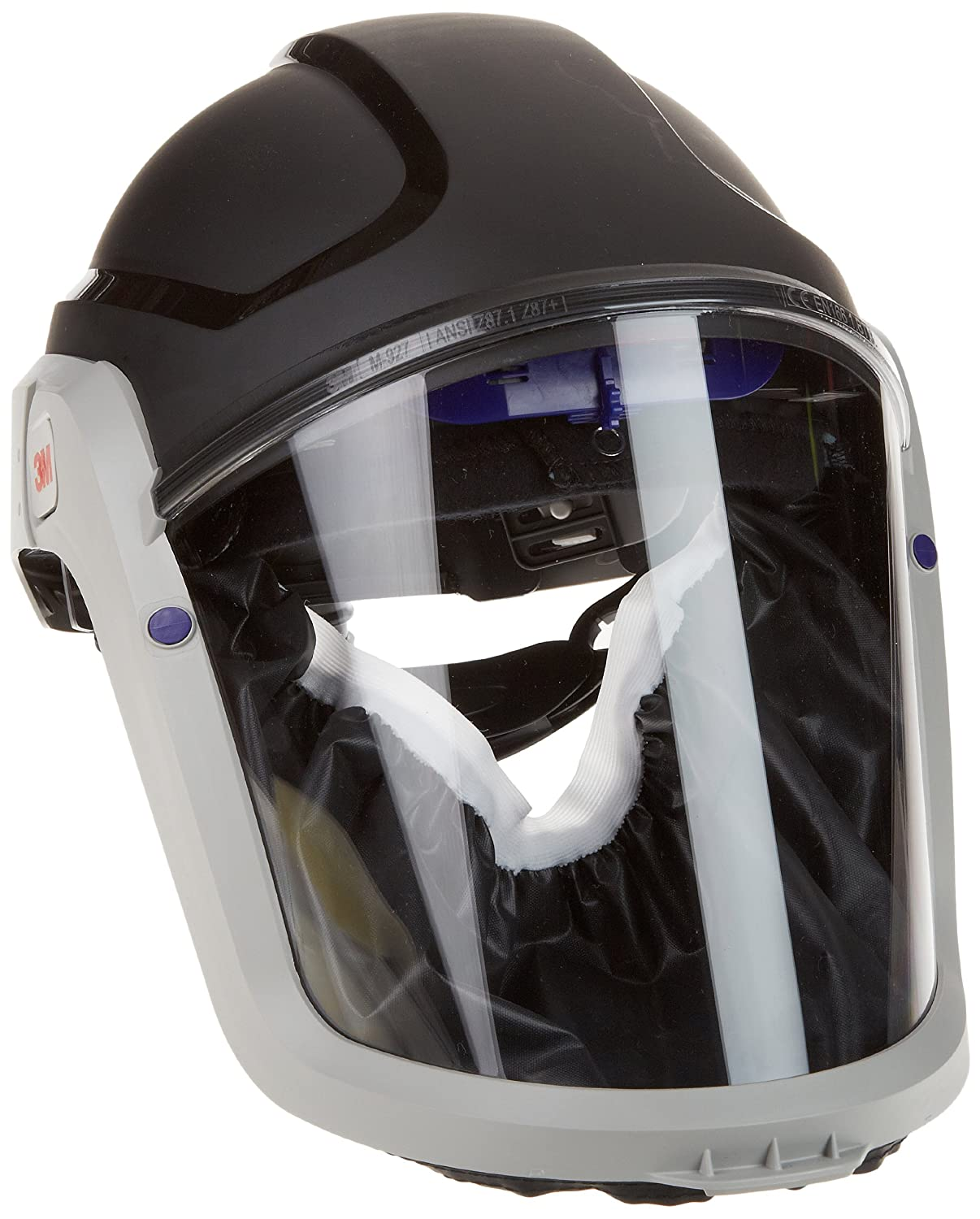 3M Versaflo Respiratory Hard Hat Assembly M-307, with Premium Visor and Faceseal, 1 EA/Case