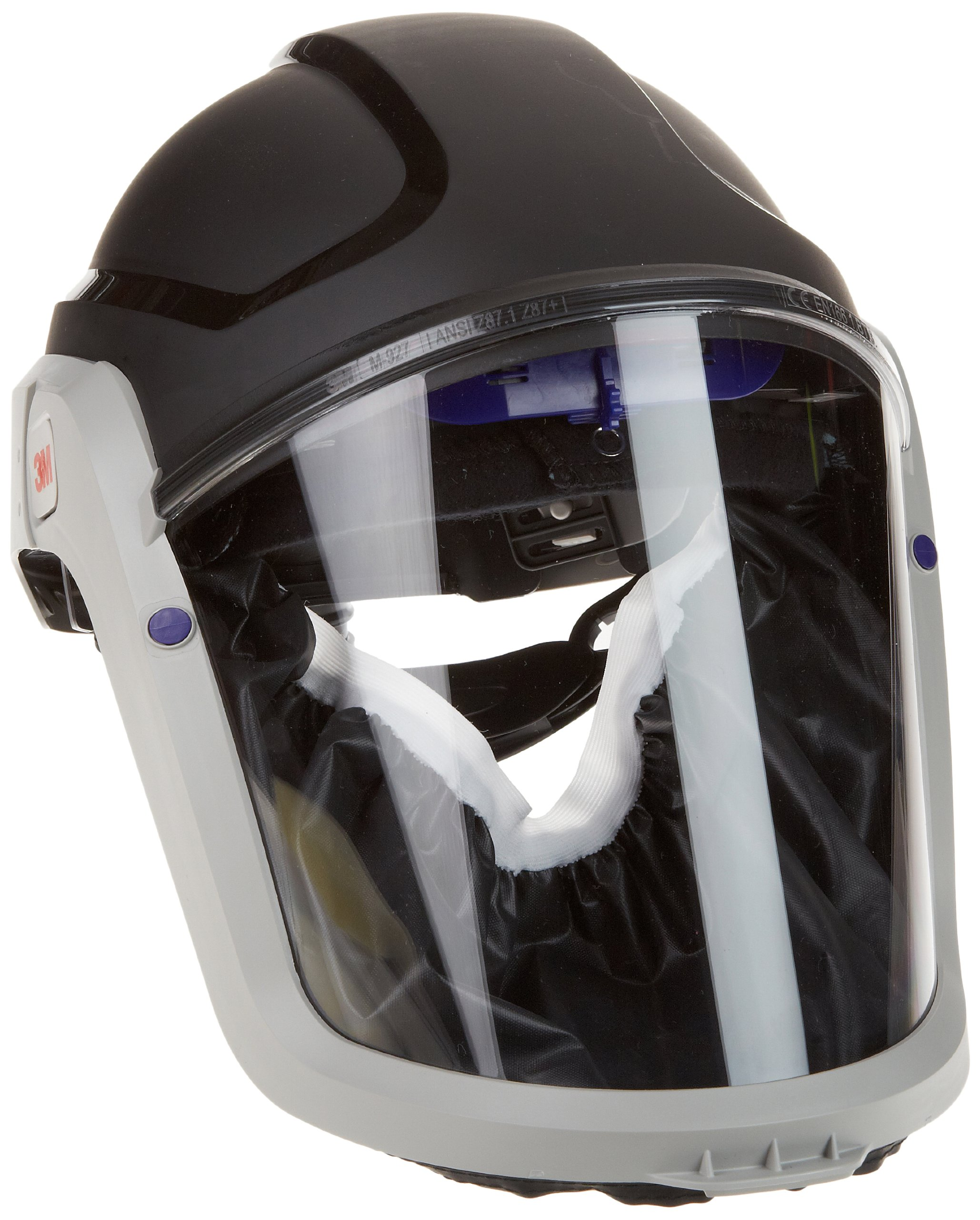 3M M-300 Series Versaflo Respiratory Hardhat Assembly M-307, with Premium Visor and Faceseal by 3M Personal Protective Equipment (Image #1)