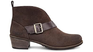 UGG Women's Wright Belted Stout Boot 5 B ...