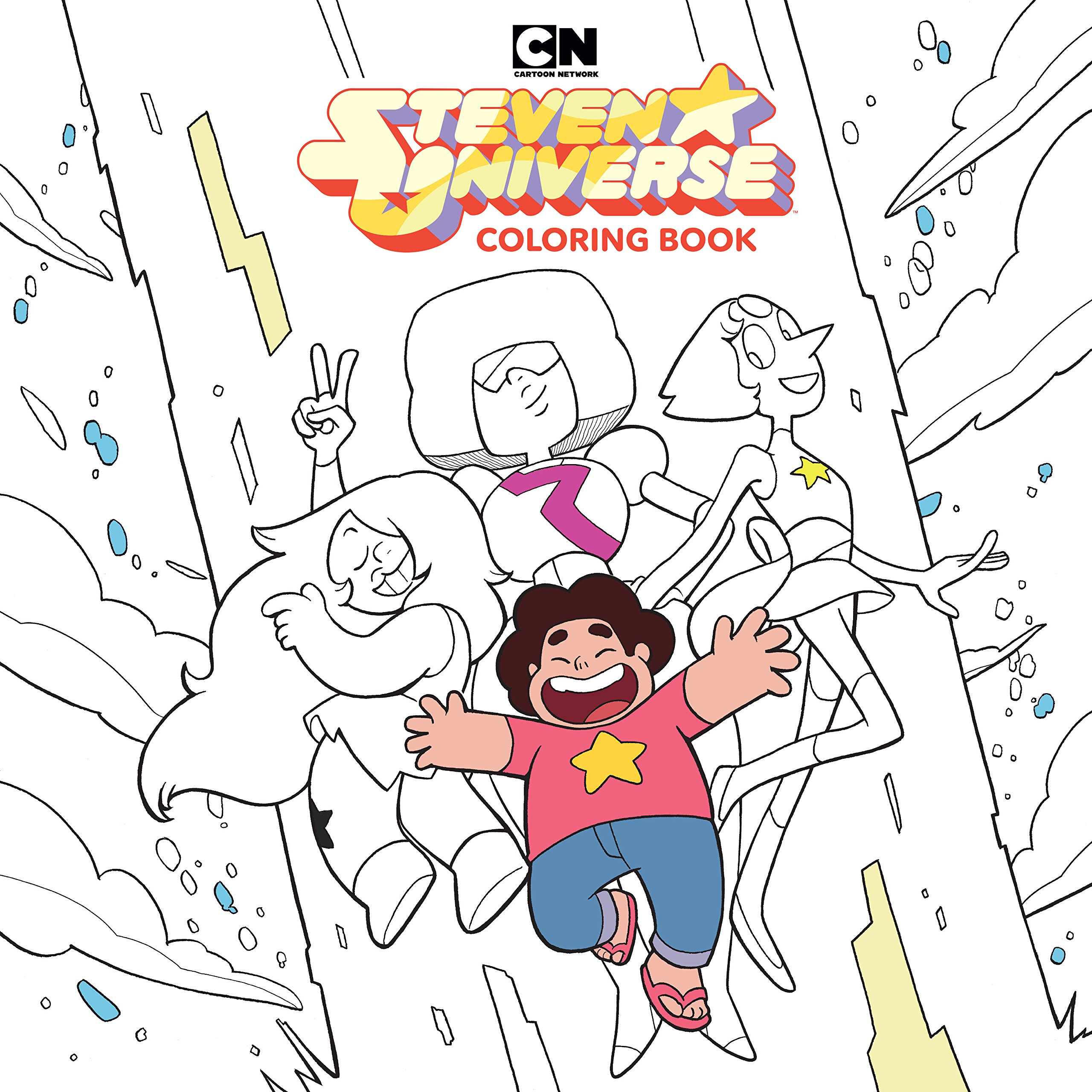 - Amazon.com: Steven Universe Adult Coloring Book Volume 1