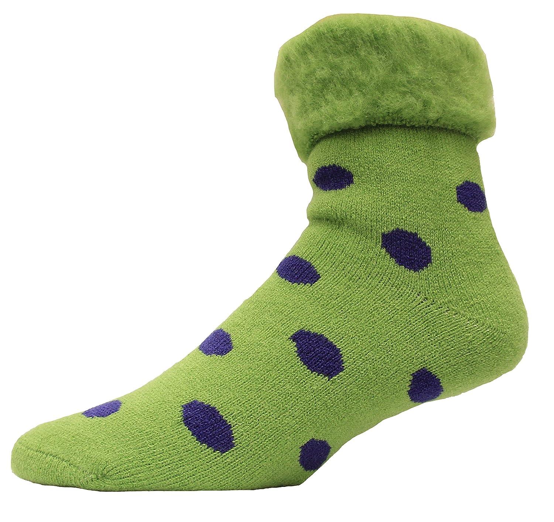 Cloud Nine//RJs Fuzzies Authentic Wool Bed Socks 1 Pair Solid Lilac CDN-00189