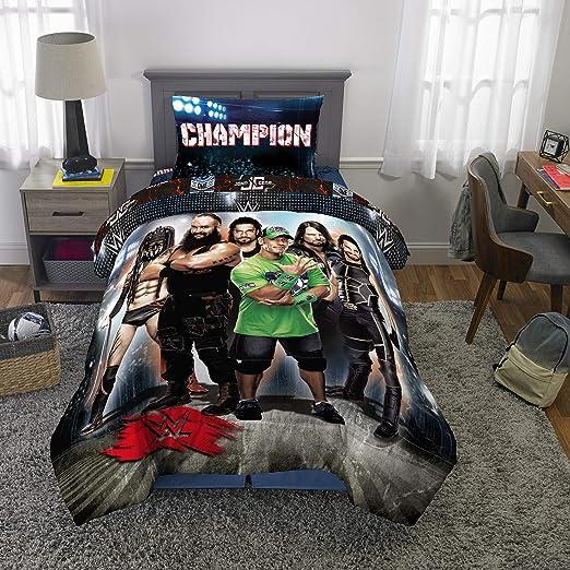 Amazon.com: WWE Wrestling Armageddon - Edredón y sábanas ...
