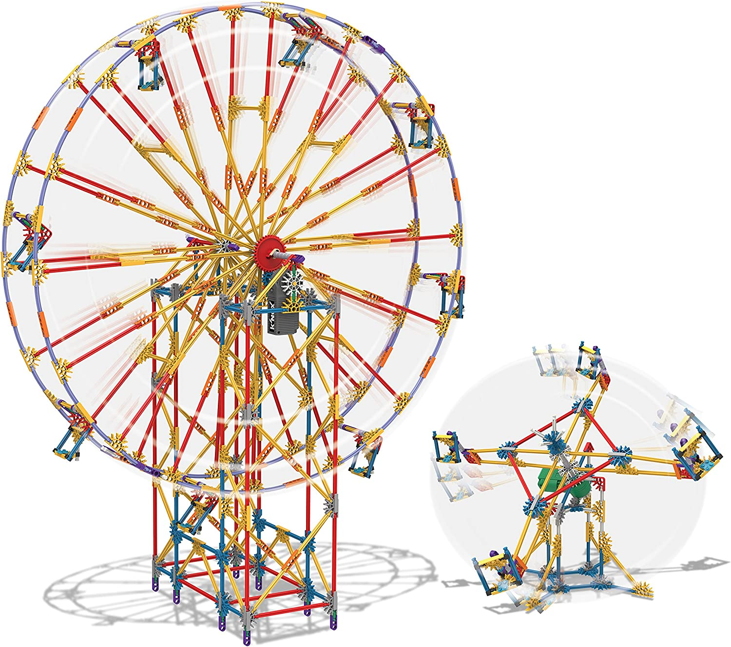 KNEX 2-in-1 Ferris Wheel Building Set Amazon Exclusive by KNex ...