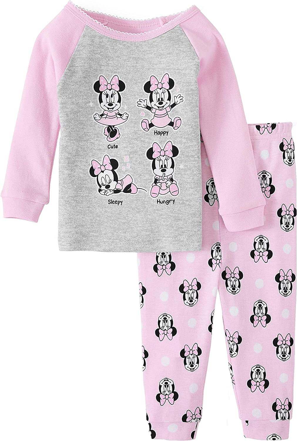 Disney Baby Girls Minnie Mouse Sweet Pyjama Set