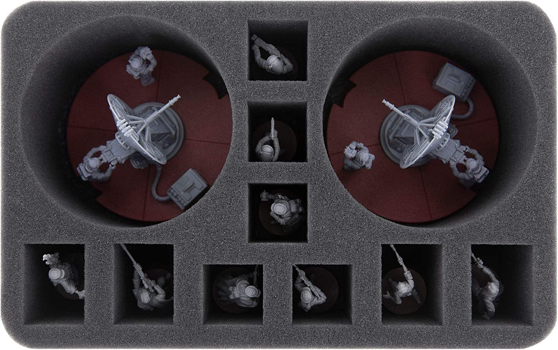 7c93e9c05be12 Feldherr HS080LG06 foam tray for Star Wars Legion  1.4 FD Laser Cannon  Team  Amazon.co.uk  Toys   Games