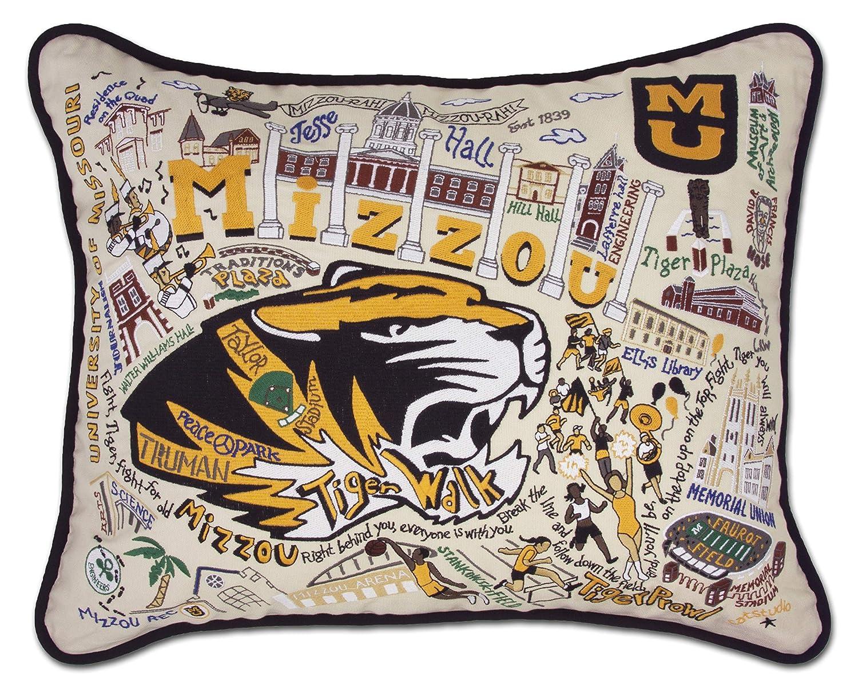 ミズーリ大学の( Mizzou ) Collegiate刺繍枕 – Catstudio   B01BVUI2MA