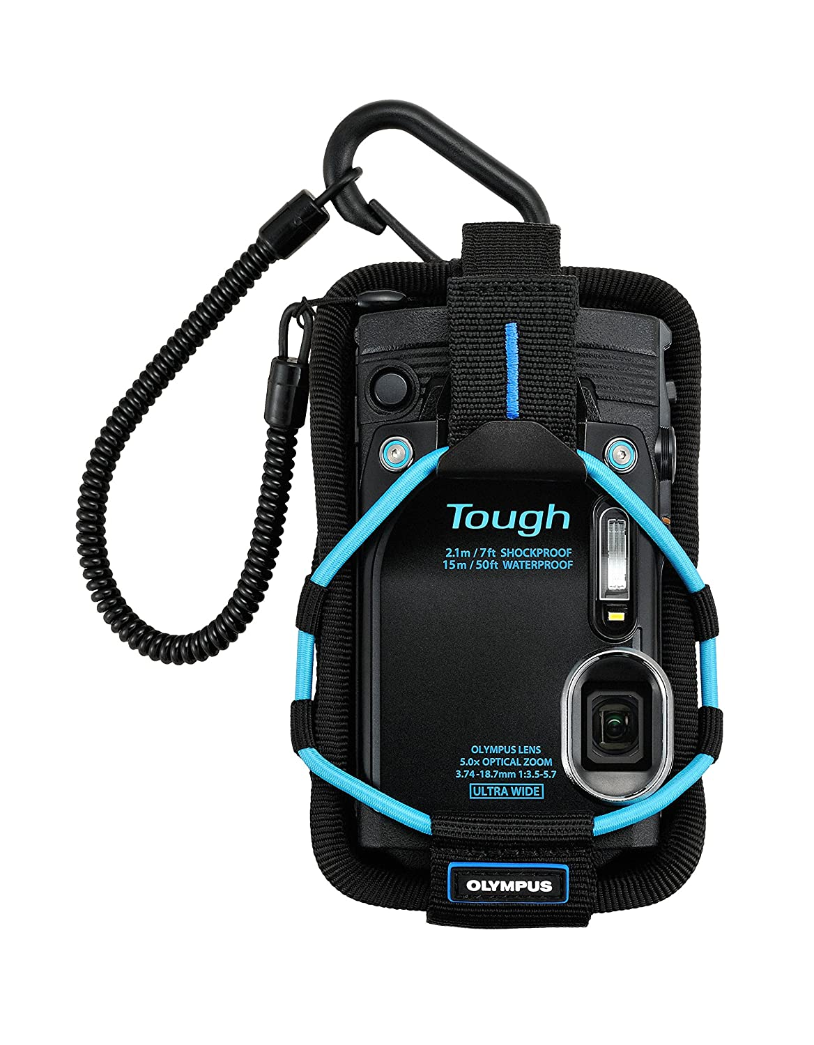 Olympus Tough Sports Holder CSCH-123 (Light Blue) for the TG-1/2/3/4/5 and TG-6 Cameras
