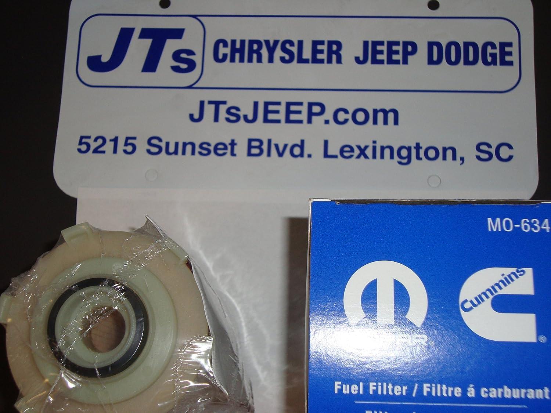 Mopar 6806 1634aa Fuel Filter Automotive 2001 Jeep Wrangler