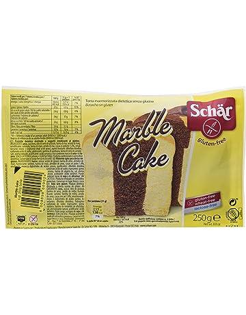 Dr. Schar Marble Cake Plum Cake - Pastel marmoleado, 250 gr, paquete de
