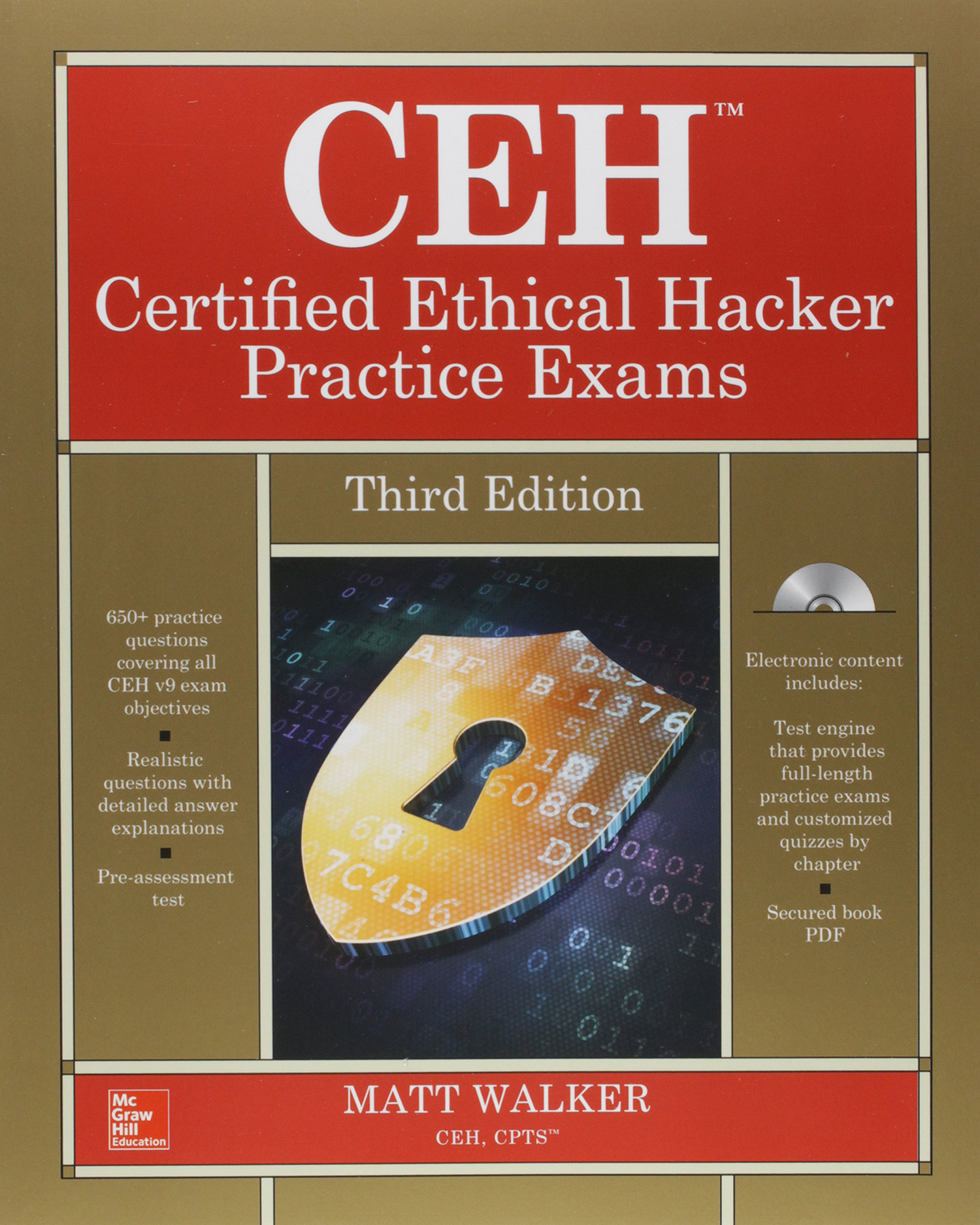 Ceh certified ethical hacker bundle third edition all in one ceh certified ethical hacker bundle third edition all in one amazon matt walker 9781259837531 books xflitez Image collections