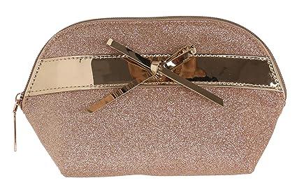 cc01723f70f70 Camomilla Milano-busta tonda beauty glam glitter  Amazon.it  Bellezza