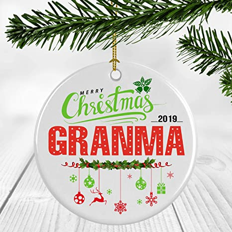 Family Christmas Gift Ideas 2019 Amazon.com: Ceramic Christmas Tree Ornaments   Christmas Ornament