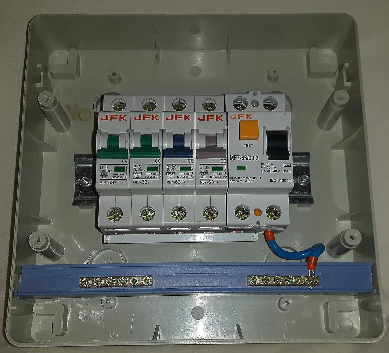 Consumer Unit Wiring Diagram Wylex Split Load Consumer Unit Wiring