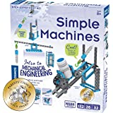 Thames & Kosmos Simple Machines Science Experiment & Model Building Kit, Introduction to Mechanical Physics, Build 26…
