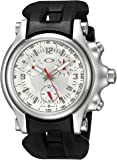 Oakley Men's 10-216 Holeshot Unobtainium Strap Edition Chronograph Rubber Watch