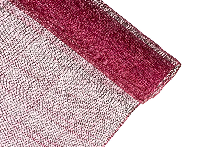 Amazon.com  Stiffened Sinamay Millinery Fabric - Black - 1 Meter x 90cm f7ace354f6b