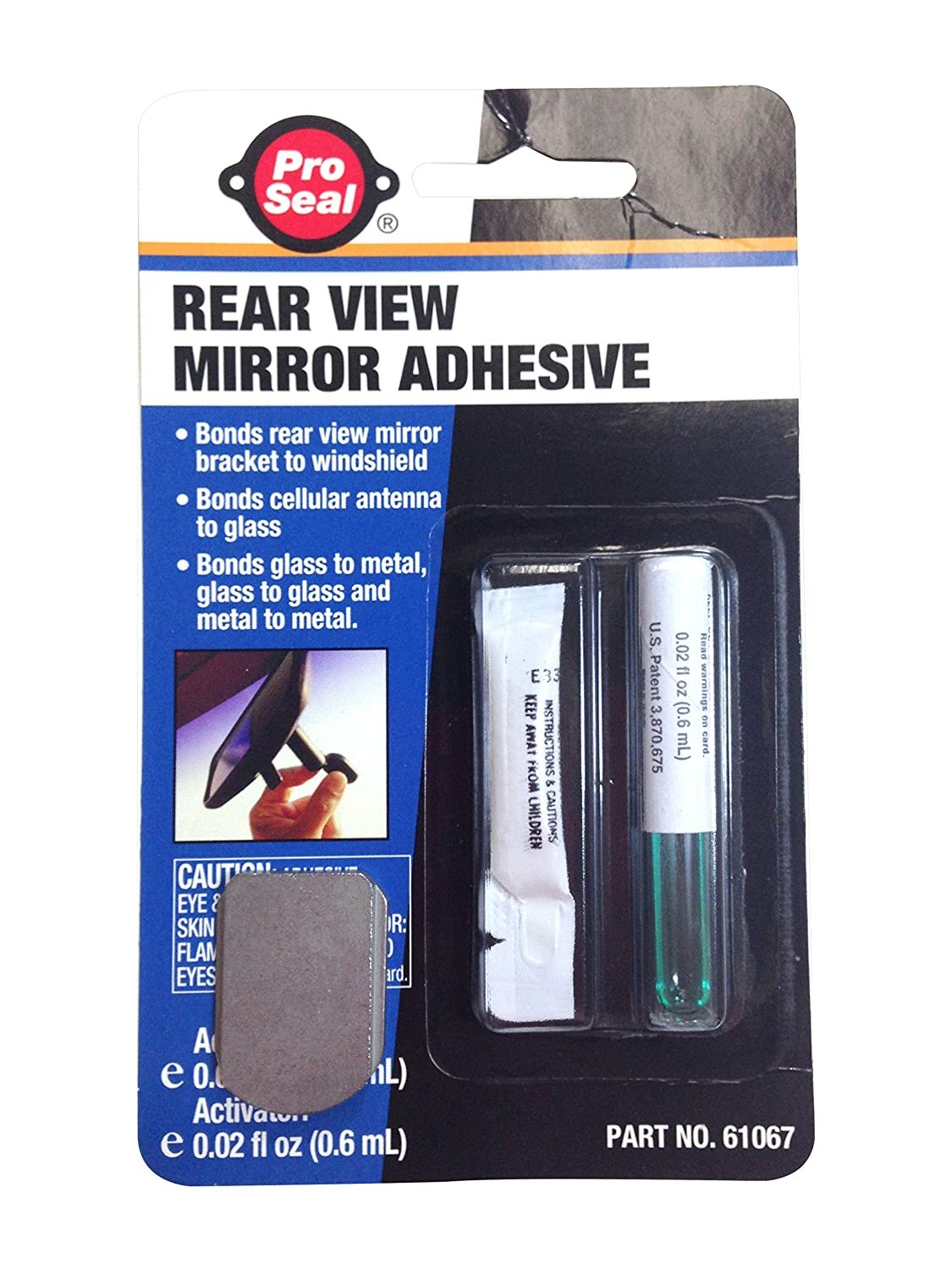 Fairchild Automotive D4093 Rear View Mirror Adhesive and Bracket