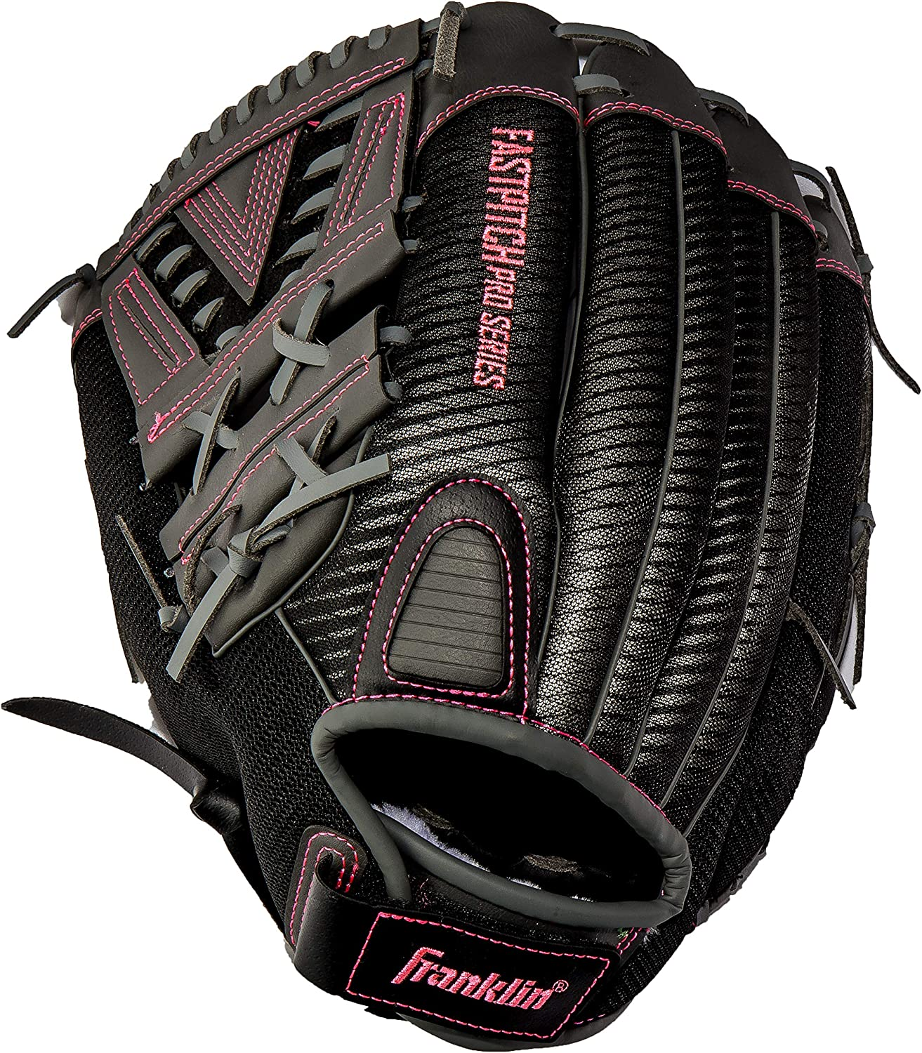 11.5in 12.5in and 13in Size Mitts Franklin Sports Fastpitch Pro Series Softball Gloves 11in Adult and Youth Sizes Right or Left Hand Throw 12in