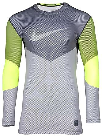 3ec2e1384a7a4 Nike Pro Hyperwarm línea Crew - Camiseta de compresión