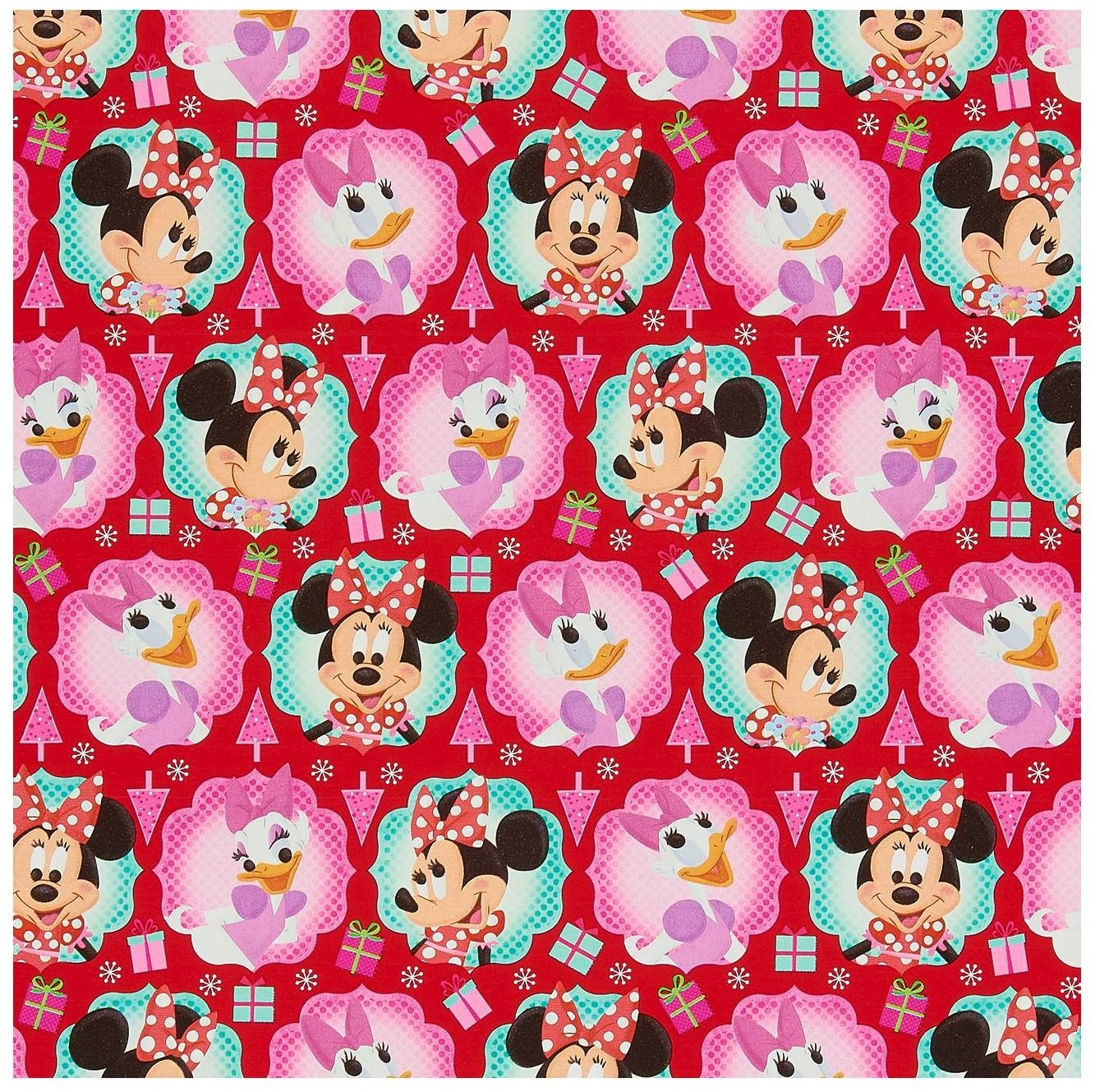 amazoncom disney minnie mouse christmas wrapping paper 70 sq feet health personal care