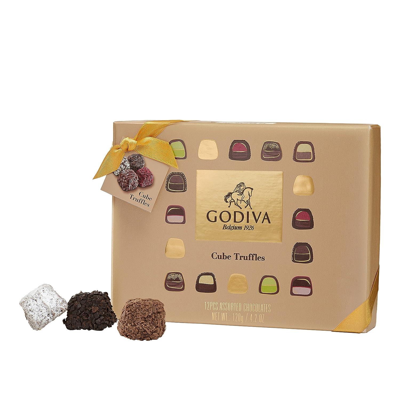 Godiva, Cube Truffles bombones trufas surtidas caja regalo 12 piezas ...