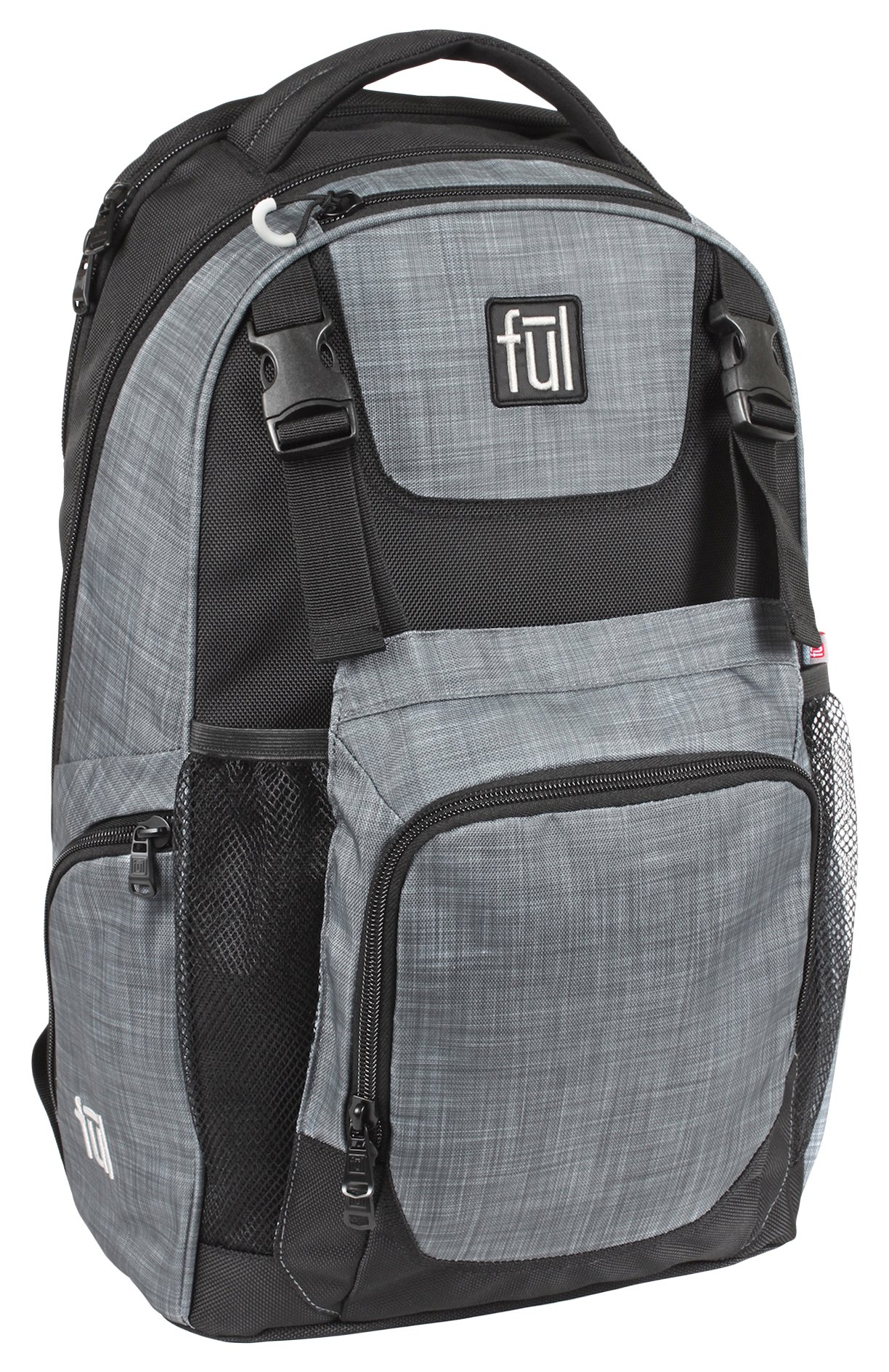 FUL Nomad Backpack (Heather Grey/Black)