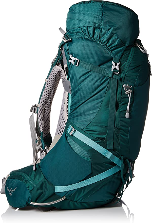 Osprey Aura de la Mujer 65 AG Mochilas, Color Rainforest Green ...