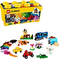 LEGO Classic Medium Creative Brick Box, Multi-Colour, 10696