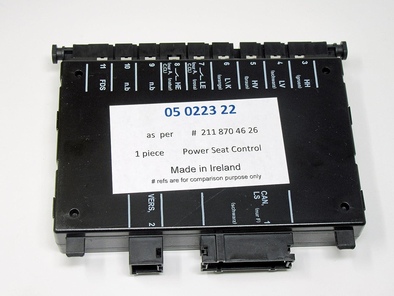 Mercedes w203 w209 w211 -04 Seat Control Unit module LT left power seating lh OEM