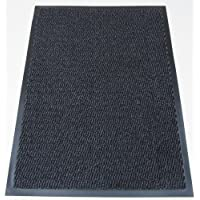 AHOC Machine Washable Grey Black Heavy Quality Non Slip Hard Wearing Barrier Mat. Available in 8 sizes (80cm x 120cm)