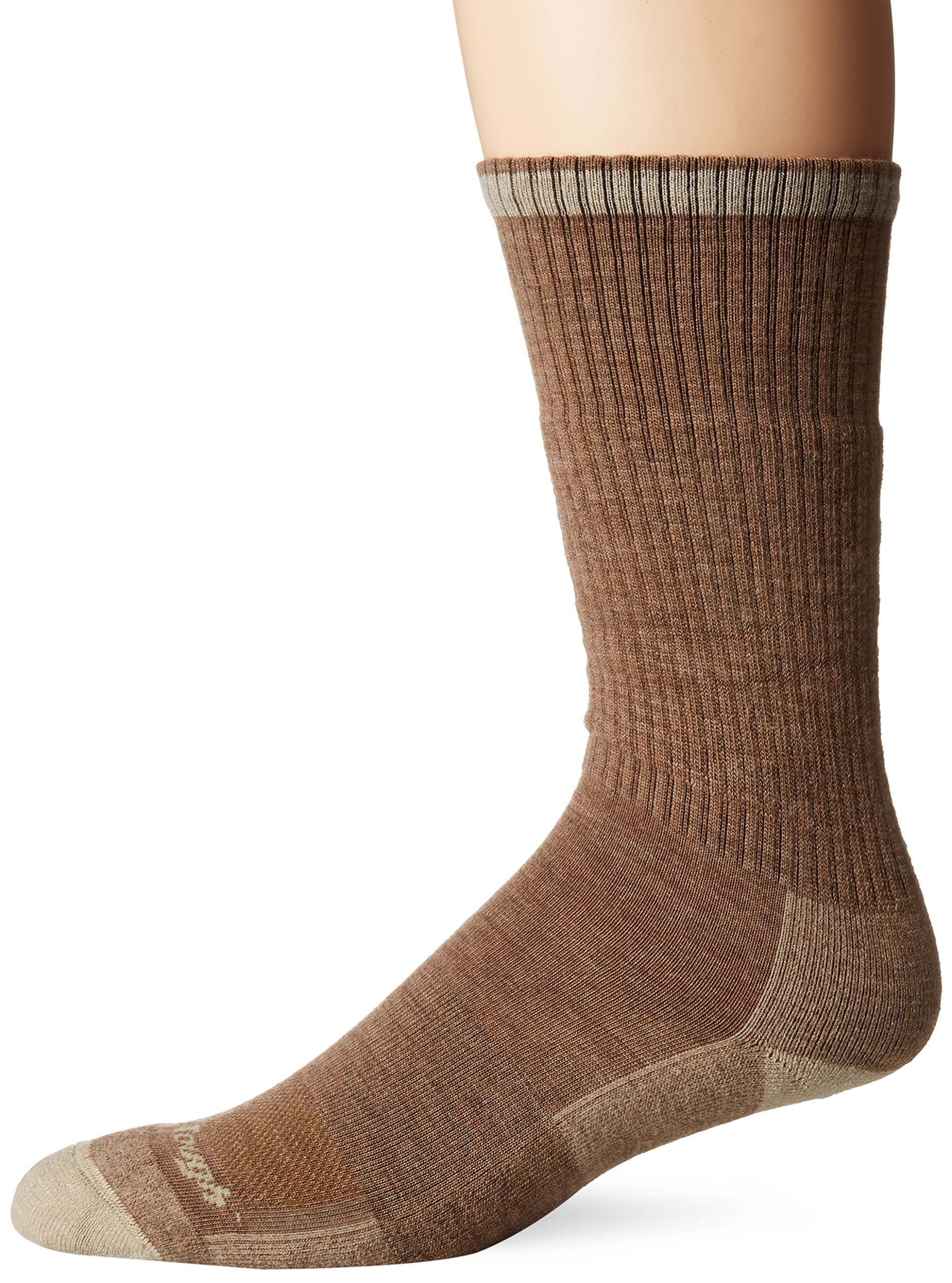 Darn Tough Vermont Men's John Henry Boot Cushion Socks, Sand, XL by Darn Tough