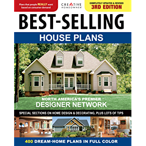 Best-Selling House Plans: 400 Dream Home Plans in Full Colour