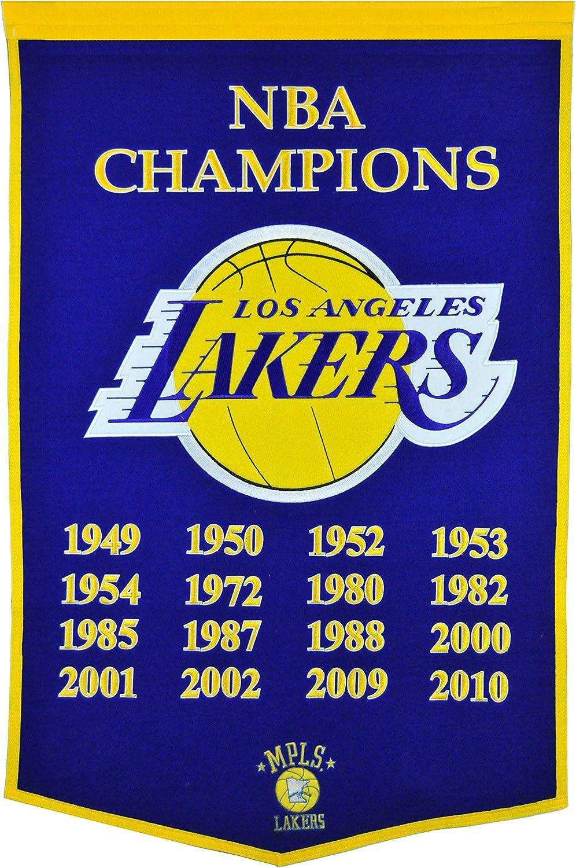 Winning Streak NBA LA Lakers Dynsaty Banner