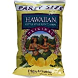 Hawaiian Kettle Style Potato Chips, Original, 16 Ounce