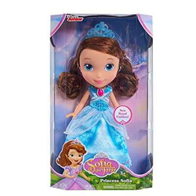 Sofia The First Just Play Royal Crystal Dress Doll: Toys & Games