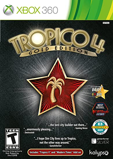 amazon com tropico 4 gold edition xbox 360 video games rh amazon com Left 4 Dead Xbox 360 Just Cause 2 Xbox 360