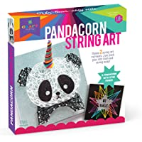 Craft-tastic – String Art Kit – Craft Kit Makes 2 Large String Art Canvases – Pandacorn Edition