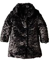 Calvin Klein Girls' Faux Fur Jacket