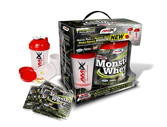 Amix Anabolic Monster Whey 2kg + Shaker Lima-Yogurt