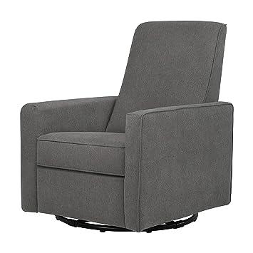 Sensational Davinci Piper Upholstered Recliner And Swivel Glider Dark Grey Pdpeps Interior Chair Design Pdpepsorg