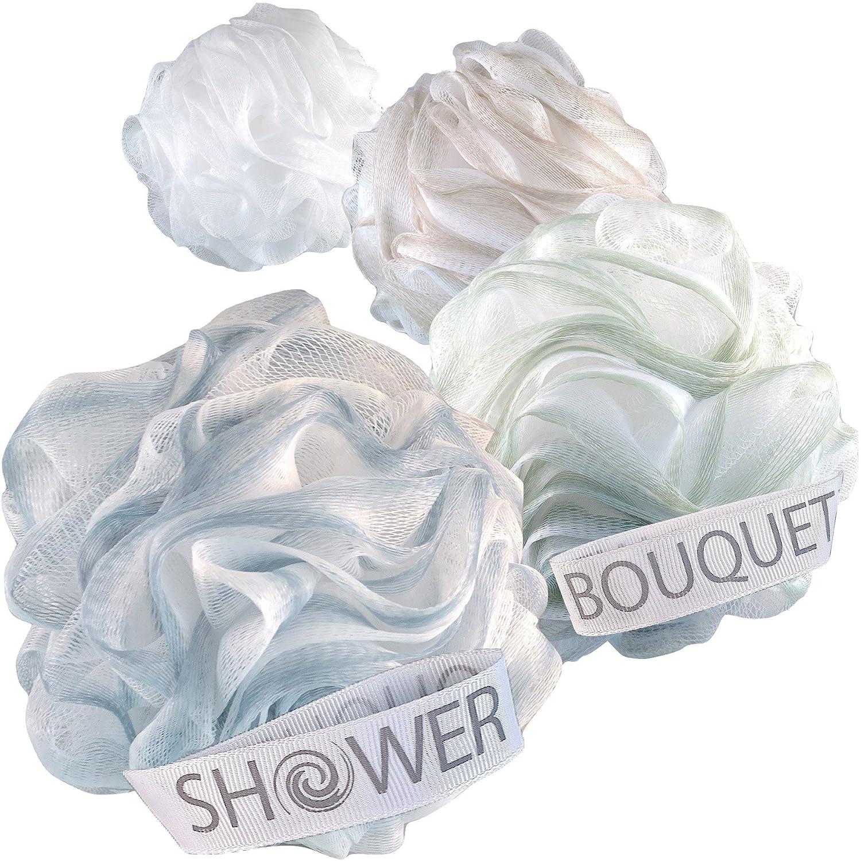 Shower Bouquet Loofah Bath Sponge XL 75g Soft Set