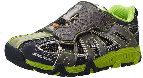f5d27c9cfcab83 Stride Rite Star Wars Light-Up Saber Running Shoe (Infant Toddler Little