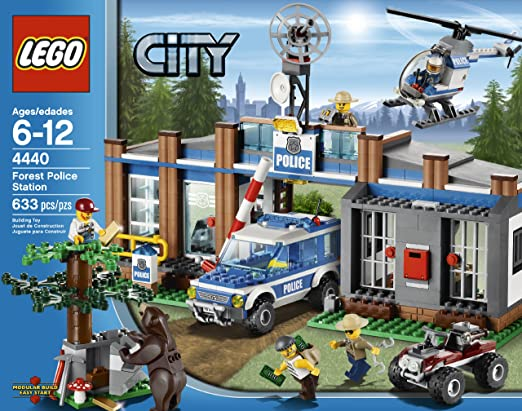 Amazon.com: LEGO City Police Forest Station 4440: Toys & Games