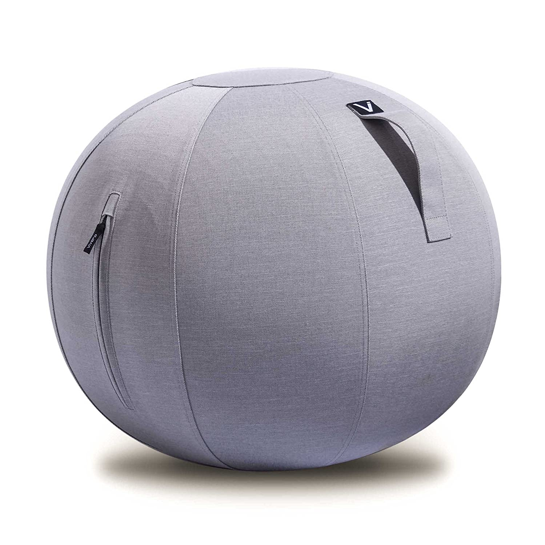 【税込?送料無料】 Vivora Luno - 自立型ボールチェア~ポンプ -&ハンドル付き ベースリング不要 Luno Platinum B077SXPR6Q Platinum Grey Standard Standard|Platinum Grey, リサイクルランド わくわく:4966d016 --- arianechie.dominiotemporario.com