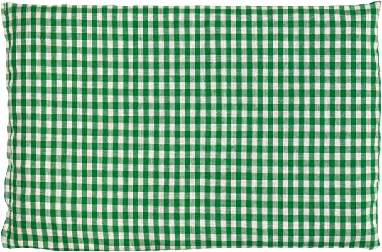 Saco térmico de semillas 30x20cm verde y blanco | Almohada ...