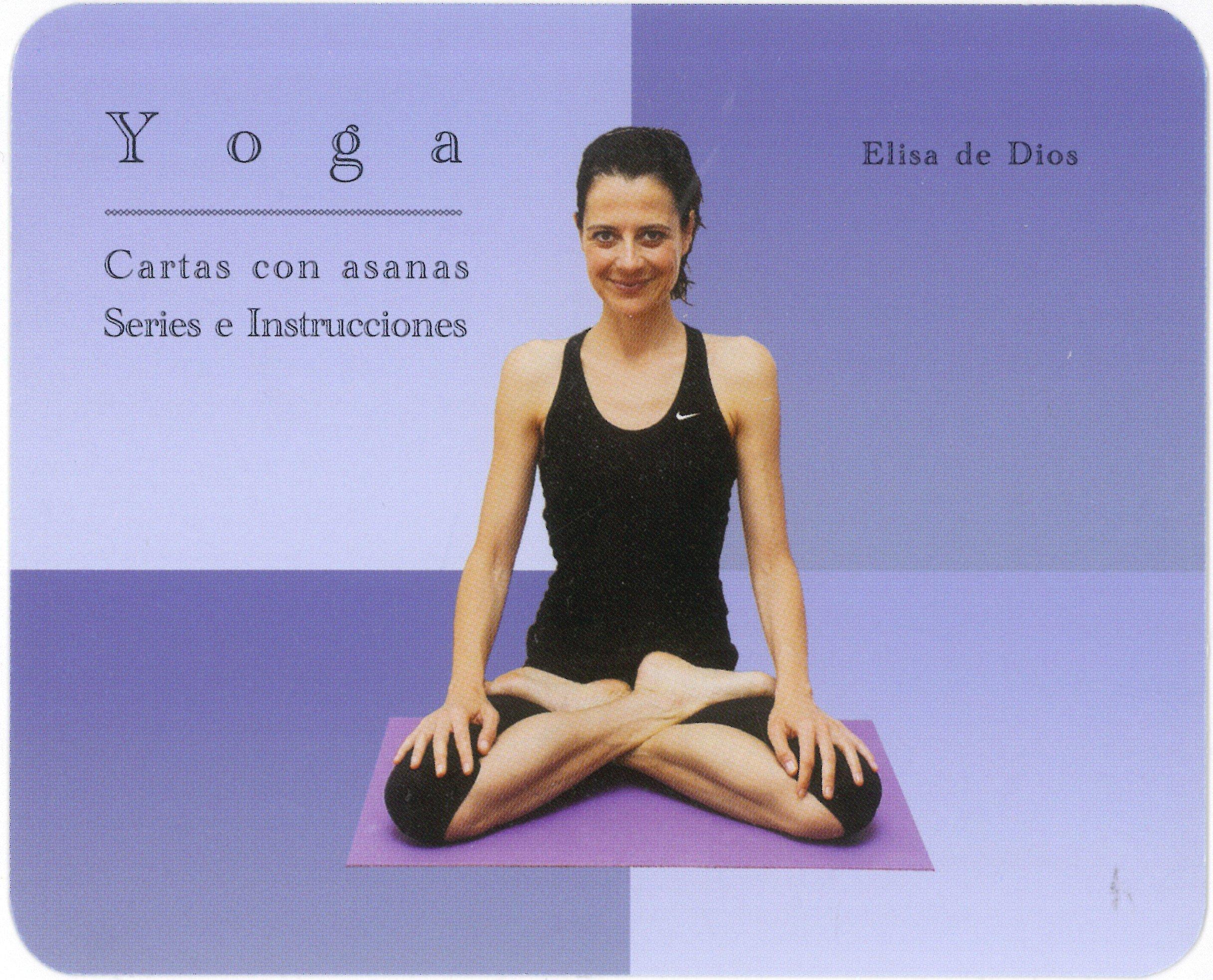 YOGA- Cartas de Yoga. Asanas, series e instrucciones: Elisa ...