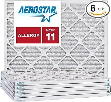 MERV 11 18 x 25 x 1 Pleated Furnace Air Filter